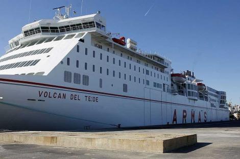 visithuelva ferry islas canarias