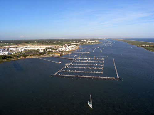 visithuelva puerto marina El Rompido