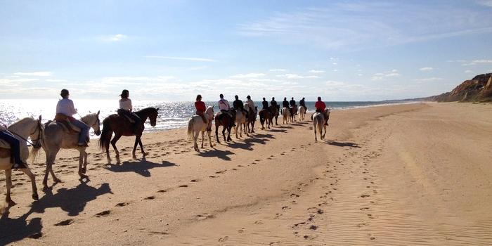 visithuelva rutas caballo playa